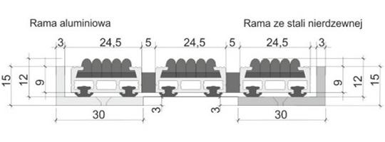 Maty czyszczące o wysokości 11/13 mm - CLASSIC